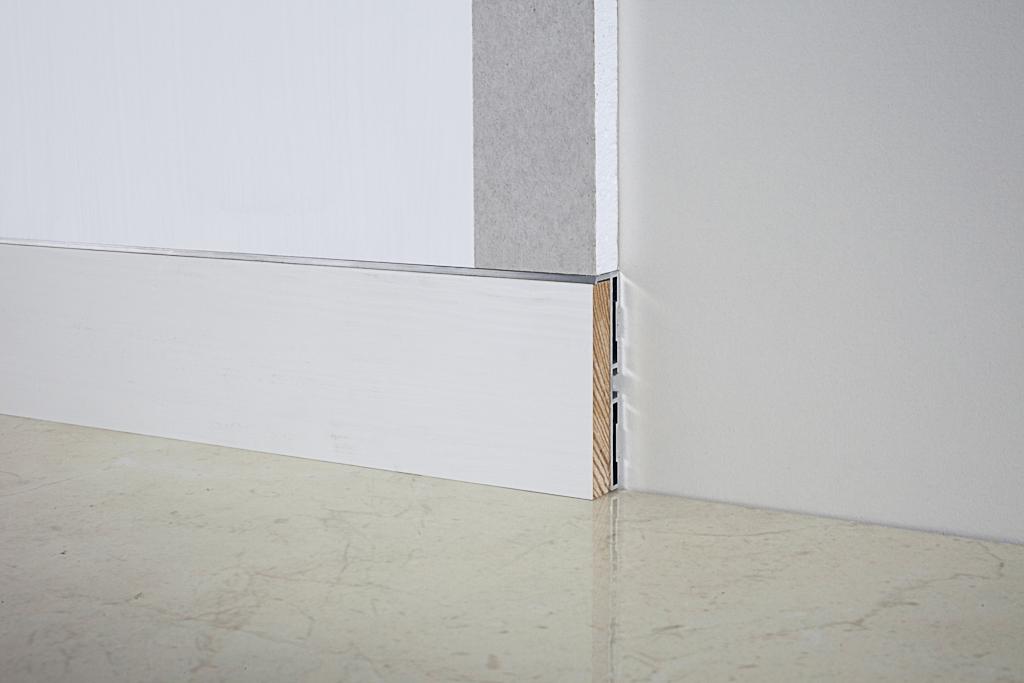 Алюминиевый плинтус Fezard ALP-G60